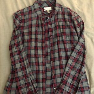 J Crew Plaid Button Up